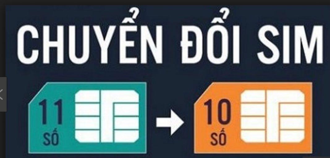 Chuyển thuê bao di động 11 số thành 10 số