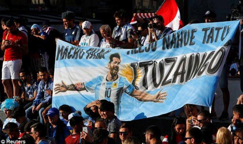 Messi làm cổ đọng viên Argentina thất vọng