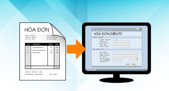Quy trình chuyển đổi hóa đơn giấy sang hóa đơn điện tử