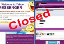 yahoo messenge đóng cửa vĩnh viễn