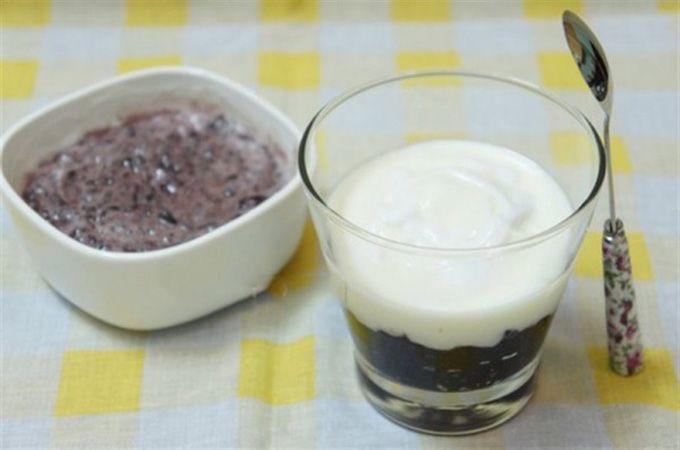 Cách làm sữa chua nếp cẩm ảnh 4