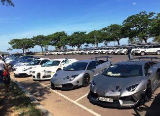 dàn siêu xe trăm tỷ của đại gia Đặng Lê Nguyên Vũ