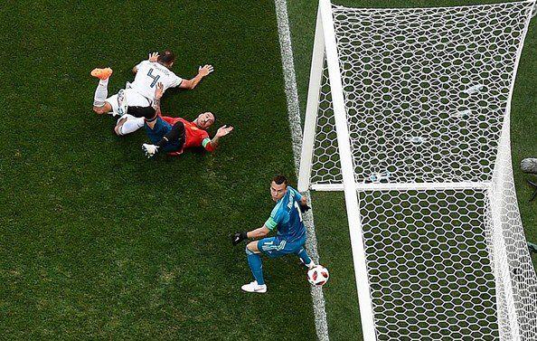 kết quả bóng đá world cup nga vs tây ban nha - ảnh 1