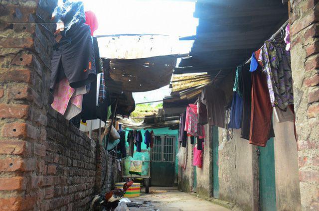 xóm trọ nghèo ở hà nội ảnh 2