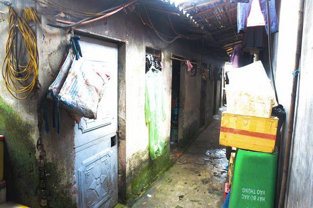 xóm trọ nghèo ở hà nội ảnh 6