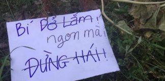 Tên trộm để lại mảnh giấy sau khi trộm đồ nhắn khiến chủ nhà càng phẫn nộ hơn