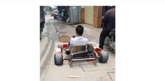 Dân mạng phát cuồng với xe ô tô tự chế