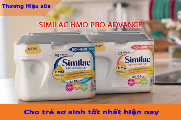 Những thương hiệu sữa cho trẻ sơ sinh tốt nhất hiện nay