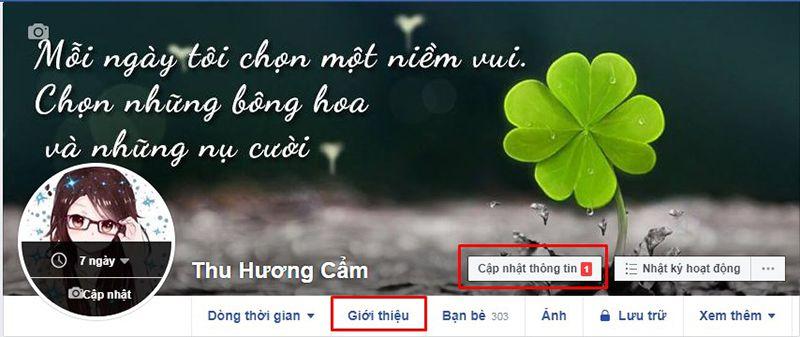 Cách ẩn ngày sinh trên facebook thật đơn giản 2