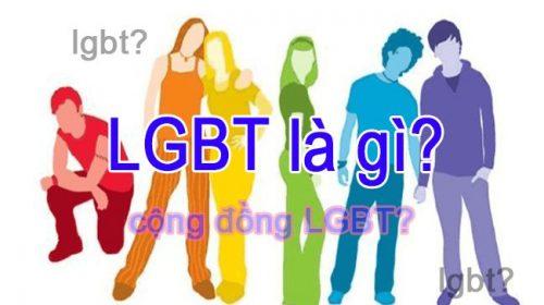 lgbt nghĩa là gì cộng đồng lgbt là gì