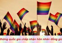 Những quốc gia chấp nhận hôn nhân đồng giới