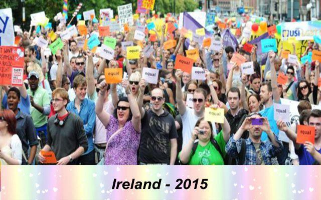 Những quốc gia chấp nhận hôn nhân đồng giới - Ireland