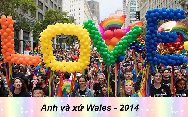 Những quốc gia chấp nhận hôn nhân đồng giới - Anh