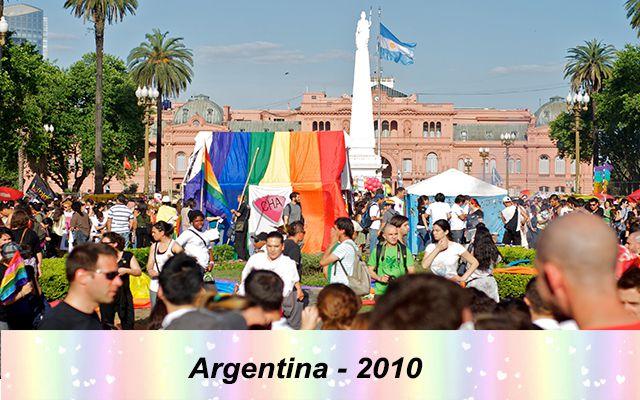 Những quốc gia chấp nhận hôn nhân đồng giới - Argentina