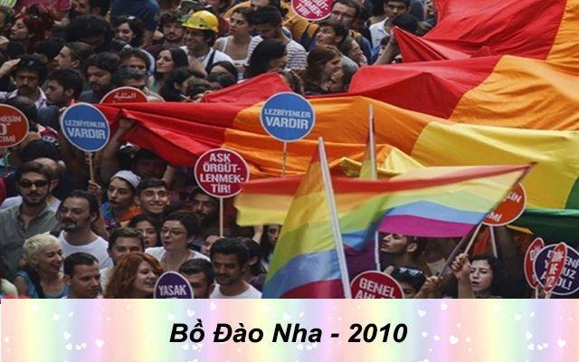 Những quốc gia chấp nhận hôn nhân đồng giới - Bồ đào nha