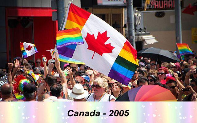 Những quốc gia chấp nhận hôn nhân đồng giới - canada