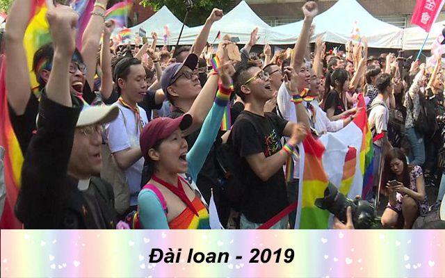 Những quốc gia chấp nhận hôn nhân đồng giới - Đài loan