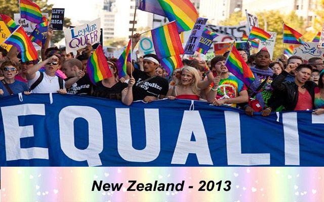 Những quốc gia chấp nhận hôn nhân đồng giới - New Zealand