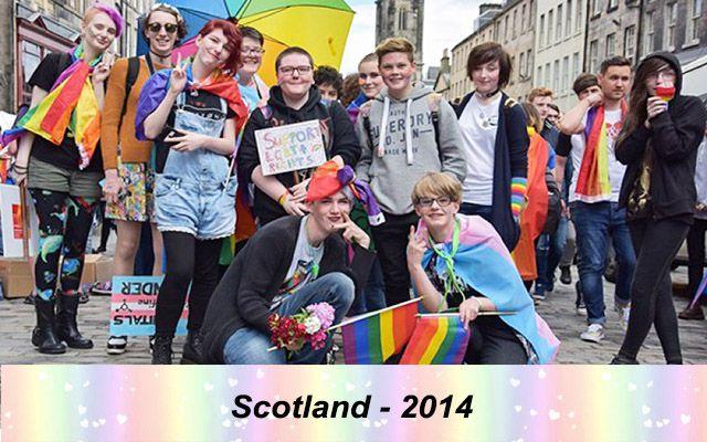 Những quốc gia chấp nhận hôn nhân đồng giới - Scotland