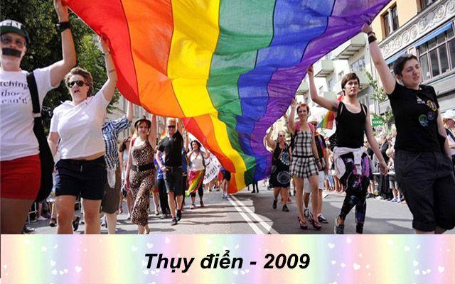 Những quốc gia chấp nhận hôn nhân đồng giới - thụy điển