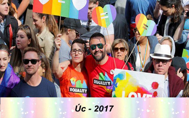 Những quốc gia chấp nhận hôn nhân đồng giới - Úc