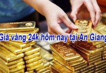 Giá vàng 24k hôm nay tại An Giang