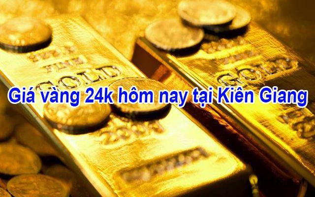 Giá vàng 24k hôm nay tại Kiên Giang
