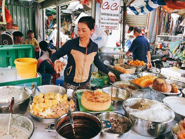 Những khu chợ ăn vặt ngon nhất Sài Gòn ảnh 7