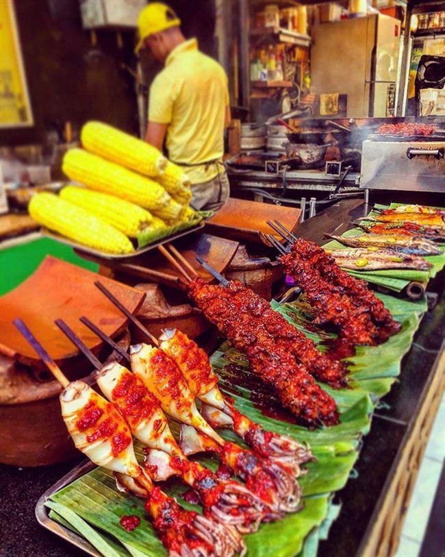 Những khu chợ ăn vặt ngon nhất Sài Gòn (chợ bến thành) ảnh 9