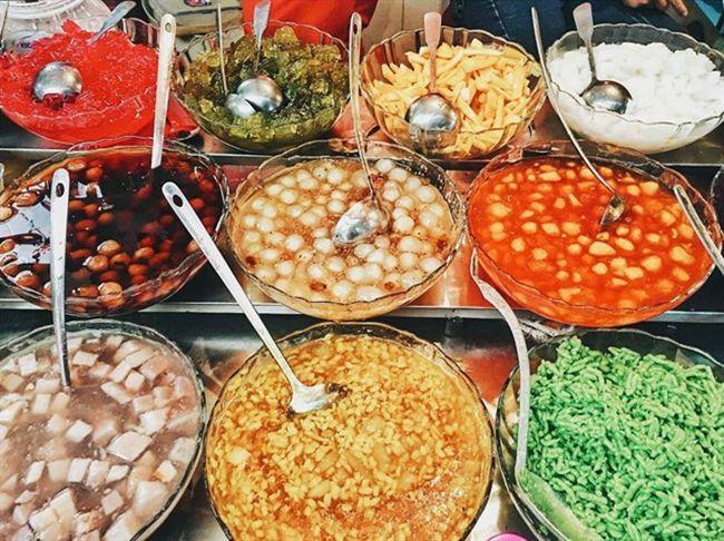 Những khu chợ ăn vặt ngon nhất Sài Gòn (chợ 200 xóm chiểu) ảnh 9