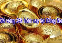 Giá vàng 24k hôm nay tại Biên Hòa Đồng Nai