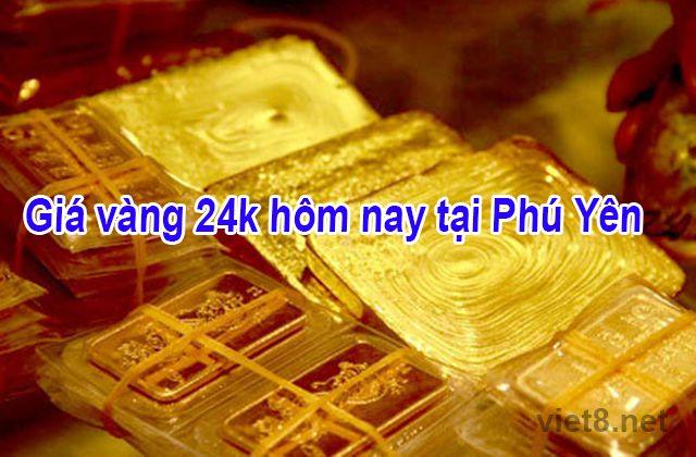 Giá vàng 24k hôm nay tại Phú Yên