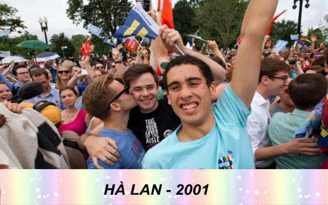 Những quốc gia chấp nhận hôn nhân đồng tính trên thế giới - hà lan