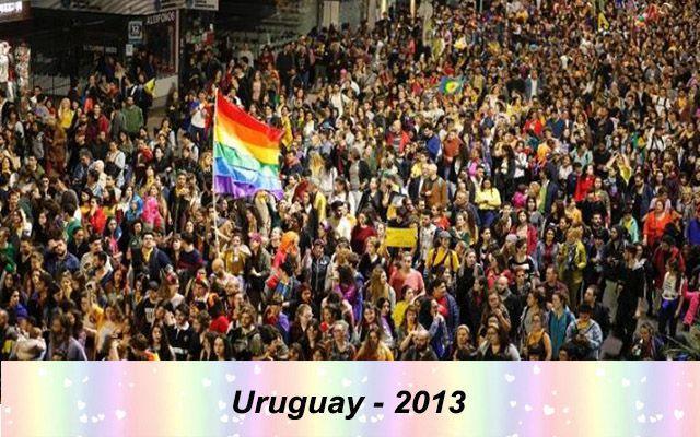 Những quốc gia chấp nhận hôn nhân đồng tính trên thế giới - Uruguay