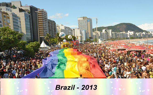 Những quốc gia chấp nhận hôn nhân đồng tính trên thế giới - Brazil