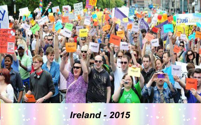 Những quốc gia chấp nhận hôn nhân đồng tính trên thế giới - Ireland