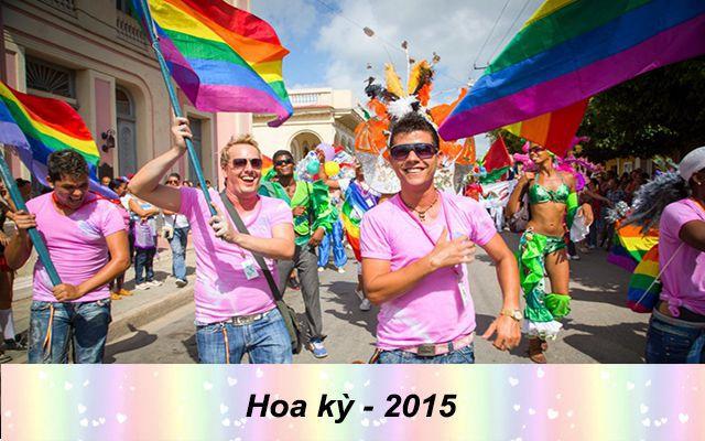 Những quốc gia chấp nhận hôn nhân đồng tính trên thế giới - Hoa Kỳ