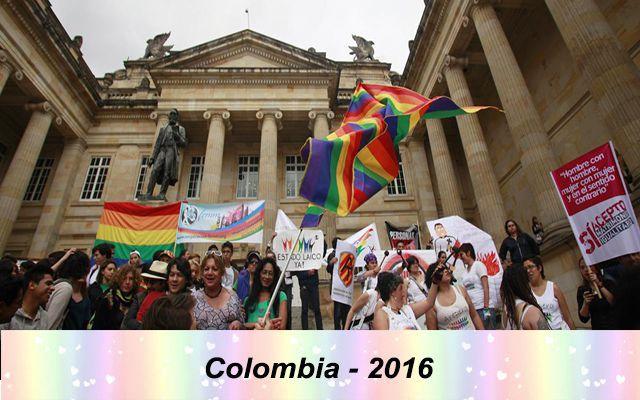 Những quốc gia chấp nhận hôn nhân đồng tính trên thế giới - Colombia