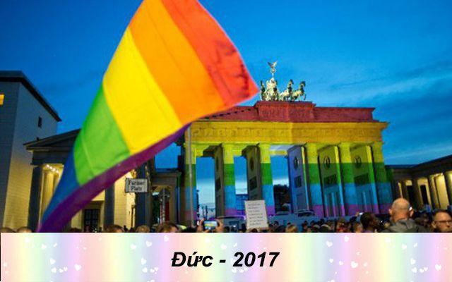 Những quốc gia chấp nhận hôn nhân đồng tính trên thế giới - Đức