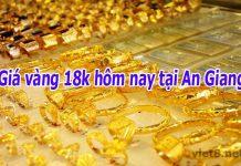 Giá vàng 18k hôm nay tại An Giang