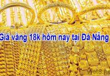 Giá vàng 18k hôm nay tại Đà Nẵng