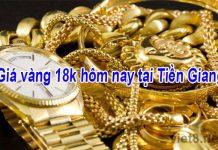 Giá vàng 18k hôm nay tại Tiền Giang