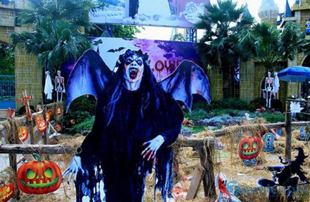 Những địa điểm đi chơi Halloween ở Hà Nội ảnh 4