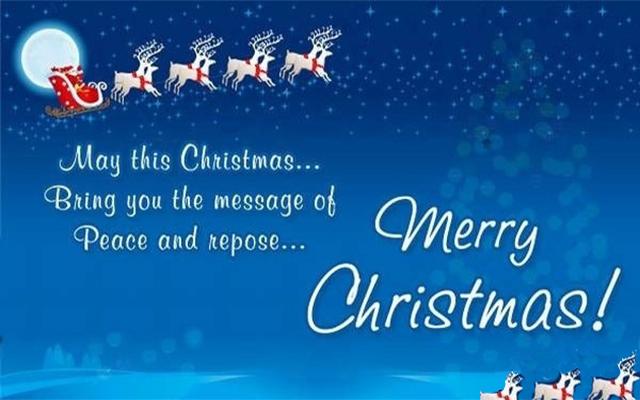 Lời chúc giáng sinh bằng tiếng anh ngắn gọn hay và ý nghĩa ảnh 1