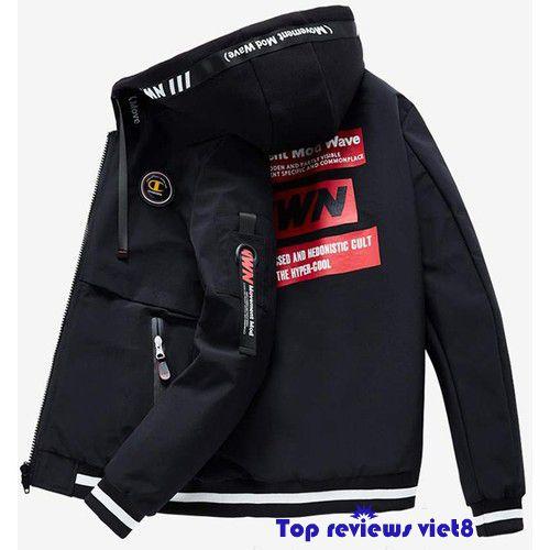 áo khoác chống nắng mưa phối dây kéo ngực - 2