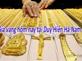 Giá vàng 9999 duy hiển Hà Nam