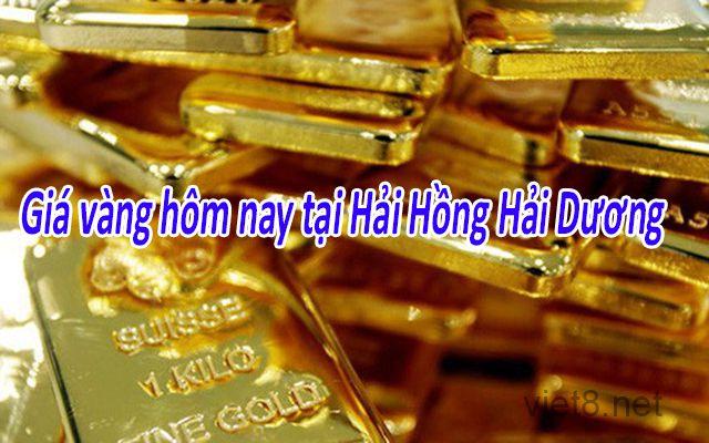 Giá vàng 9999 tại Hải Dương hôm nay
