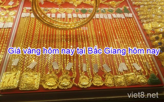 Giá vàng hôm nay tại Bắc Giang
