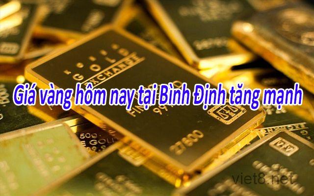 Giá vàng hôm nay tại Bình Định