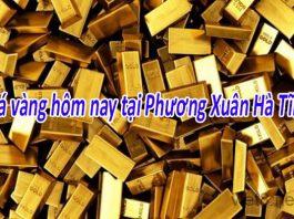 Giá vàng hôm nay tại Hà Tĩnh tăng